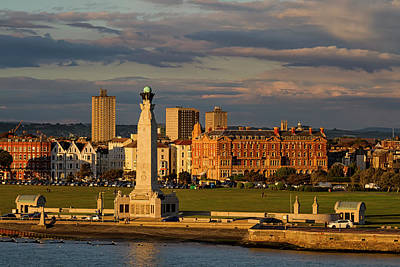 Photograph - Portsmouth And Southsea England  by Shirley Mitchell