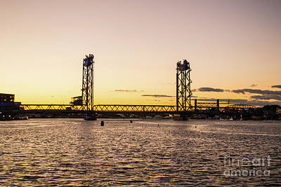 Photograph - Portsmouth At Dusk by Kevin Fortier