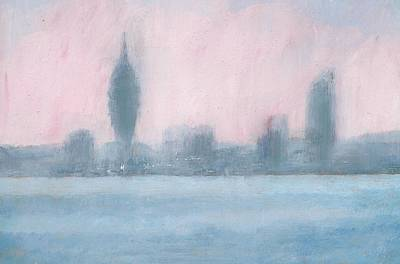 Painting - Portsmouth Dawn Part Six by Alan Daysh