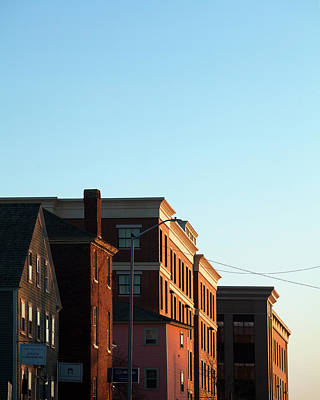 Photograph - Portsmouth Deer Street Sunset by Eric Gendron