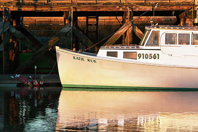 Photograph - Portsmouth Fishing Boat Katie Rue by Eric Gendron