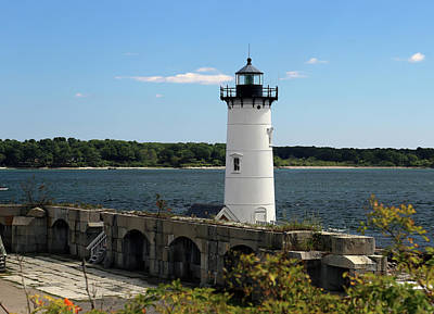 Firefighter Patents - Portsmouth Harbor Light view 1 by Imagery-at- Work