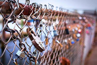 Prescott Park Photograph - Portsmouth Locks Of Love by Eric Gendron