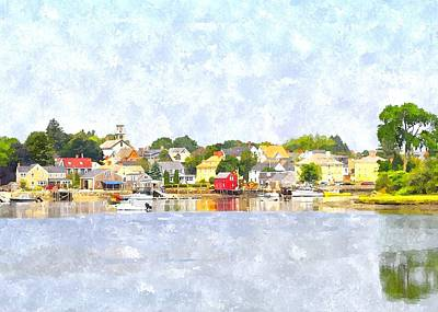Portsmouth Nh South End Psewc Art Print