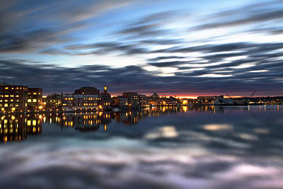 Portsmouth Reflections Art Print by Eric Gendron