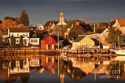 Portsmouth Reflections Art Print by Susan Cole Kelly
