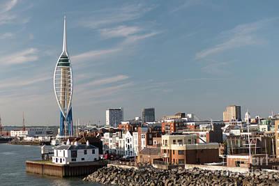 Photograph - Portsmouth Skyline by Rod Jones