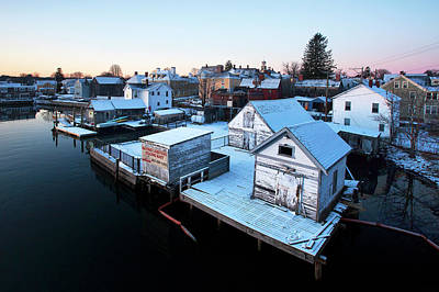 Photograph - Portsmouth South End Birds Eye View by Eric Gendron