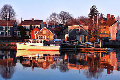 Nh Photograph - Portsmouth South End Sunrise by Eric Gendron