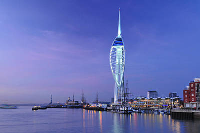 Photograph - Portsmouth Spinnaker Tower  by Marek Stepan