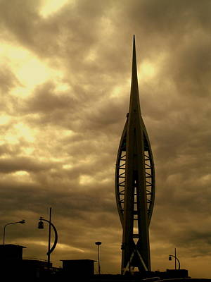 Photograph - Portsmouth Spinnaker Tower by Michael Canning