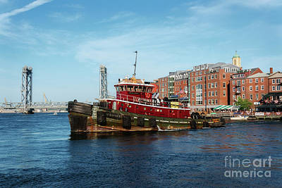 Photograph - Portsmouth Tug by Sharon Seaward