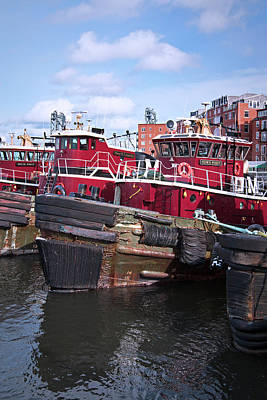 Photograph - Portsmouth Tugboat Town Point by Eric Gendron