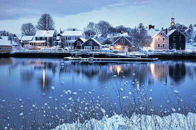 Nh Photograph - Portsmouth Winter Wonderland by Eric Gendron