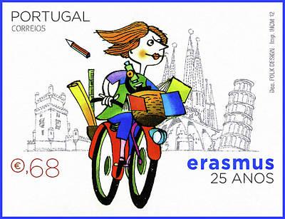 Portugal Correios Art Print