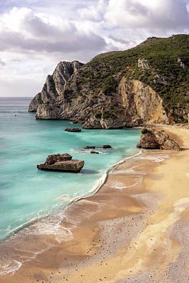 Photograph - Portugal Dream Beach Praia Do Ribeira Do Cavalo by For Ninety One Days