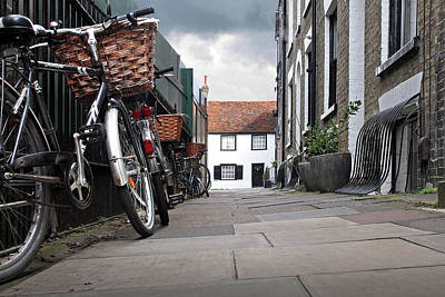 Old Home Place Photograph - Portugal Place Cambridge by Gill Billington