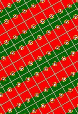 Portuguese Mixed Media - Portugal Tiled by Otis Porritt