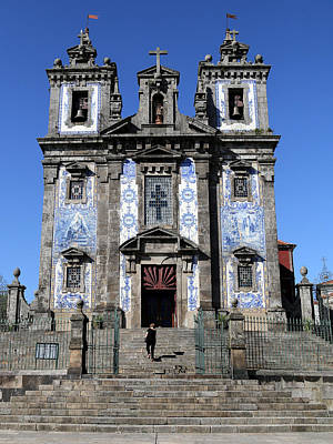 Photograph - Portugese Architecture 2 by Andrew Fare