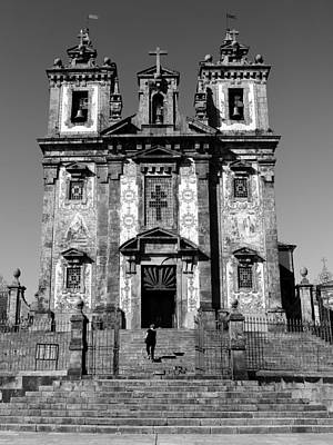 Photograph - Portugese Architecture 2b by Andrew Fare