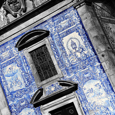Photograph - Portugese Architecture 3c by Andrew Fare