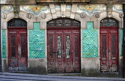 Photograph - Portugese Architecture 4 by Andrew Fare