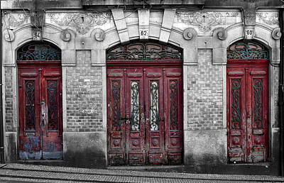 Photograph - Portugese Architecture 4c by Andrew Fare