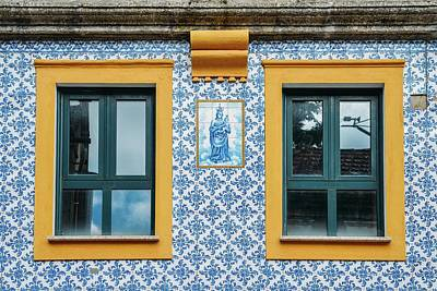 Photograph - Portuguese Azulejo Tiles by Alexandre Rotenberg