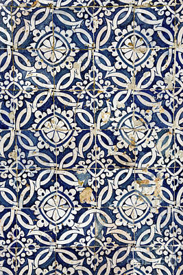 Portuguese Glazed Tiles Art Print