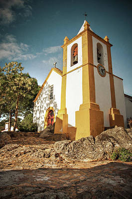 Photograph - Portuguese Rural Church by Carlos Caetano