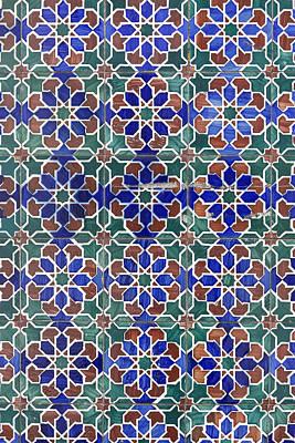 Photograph - Portuguese Tiles 02 by Edgar Laureano