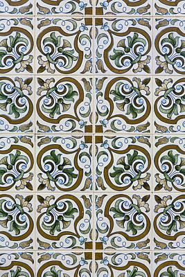 Photograph - Portuguese Tiles 03 by Edgar Laureano
