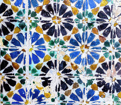 Photograph - Portuguese Tiles by Marion McCristall