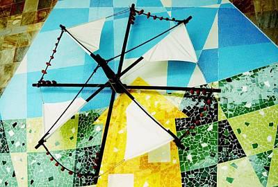 Photograph - Portuguese Windmill Sail by Dora Hathazi Mendes