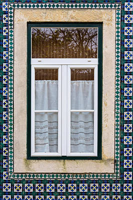 Photograph - Portuguese Window by Edgar Laureano