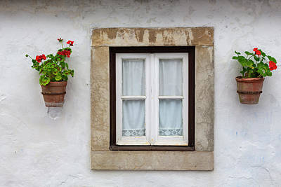 Photograph - Portuguese Windows 01 by Edgar Laureano