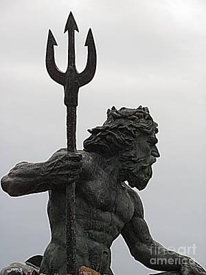Photograph - Poseidon by Julia Stubbe