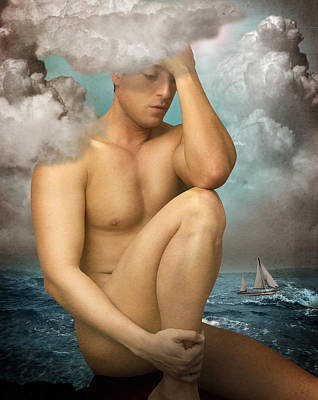 Gay Digital Art - Poseidon by Mark Ashkenazi