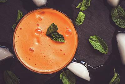 Photograph - Posh Orange Juice by Yvette Van Teeffelen