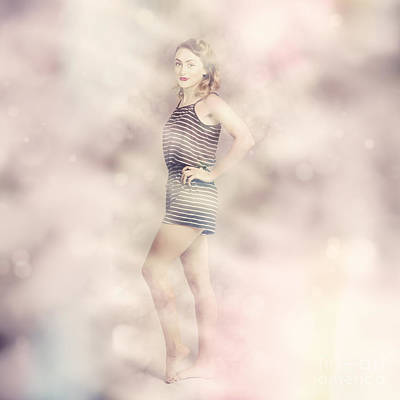 Photograph - Posh Retro Fashion Pinup by Jorgo Photography - Wall Art Gallery