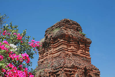 Photograph - poshanu Tower by Tran Minh Quan