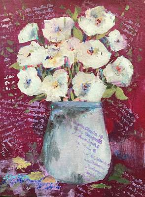 Painting - Posies And Poems by Kathleen Harrington