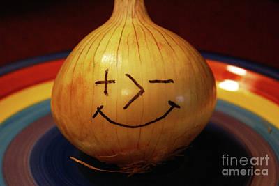 Photograph - Posimoto The Onion by Ben Upham III