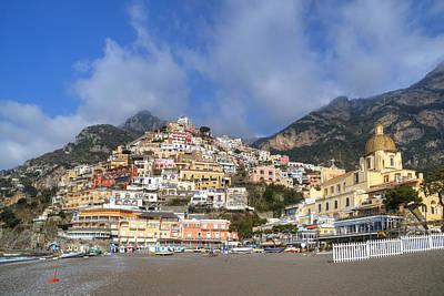 Positano - Amalfi Coast Art Print by Joana Kruse