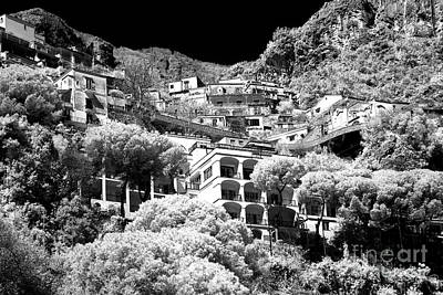 Photograph - Positano Balcony View by John Rizzuto