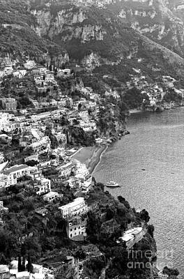 Photograph - Positano Coast by John Rizzuto
