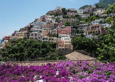 Photograph - Positano, Italy by Jocelyn Kahawai