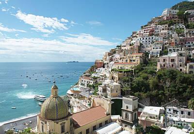 Photograph - Positano Italy by Loriannah Hespe
