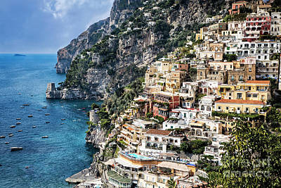 Photograph - Positano by Scott Kemper