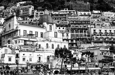 Photograph - Positano Up Close by John Rizzuto